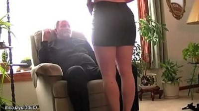 beautiful   hard sex   humiliation   old and young   wife