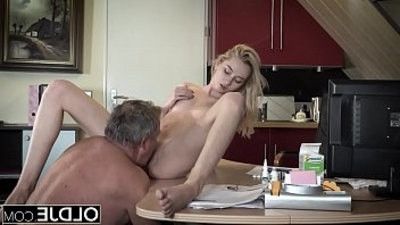 blowjob  cocks  old and young  young
