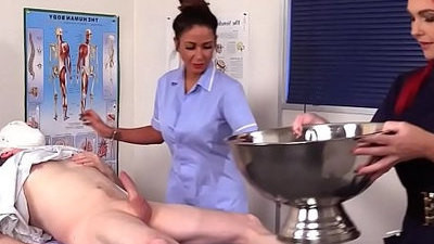 cfnm   nurse   sucking