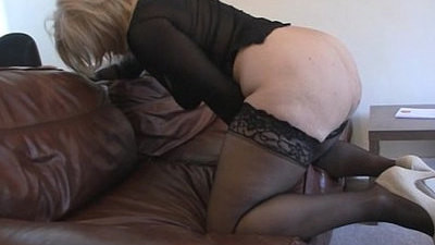 big ass   british   milf   stockings   vibrator
