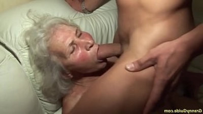 aggressive  first time  granny  old and young