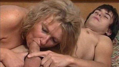 blonde  fucking  mature  young