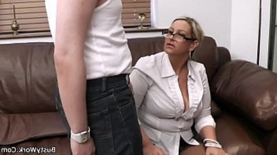 busty girls  licking  pussy  riding cock  uniform  woman