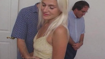 blonde   cuckold   hubby   wife