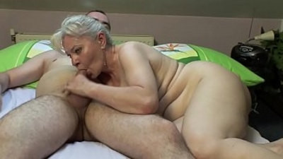 Old ladies masturbating and getting fucked