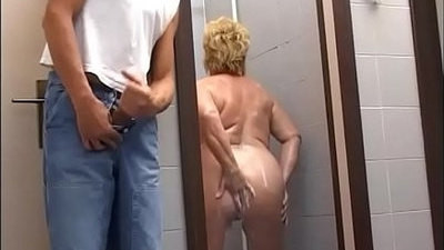 chubby   fucking   gym   mature   shower   woman
