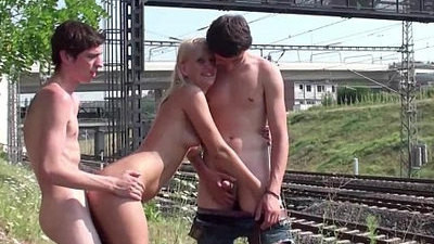 blonde   fucking   horny girls   public   teen   young