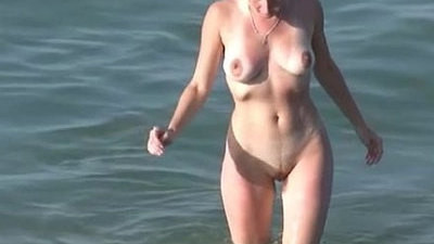 beach   horny girls   naked   public   voyeur